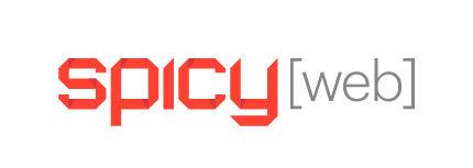 Spicy Logo White Small